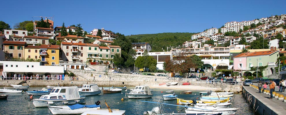 Restaurants in Rabac